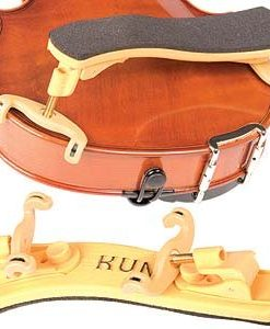 Kun Collapsible Mini Yellow Shoulder Rest for 1/16 - 1/4 Violin